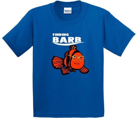 Finding Barb T-Shirt   Stranger Things   Finding Dory   Finding Nemo   TV   Geek
