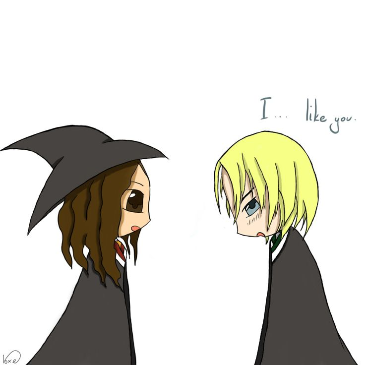 ilustracja do opowiadania... Hermiona i Draco...