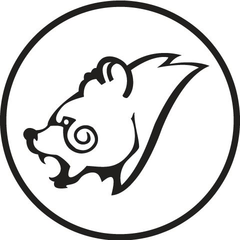 Celtic Bear Head Design