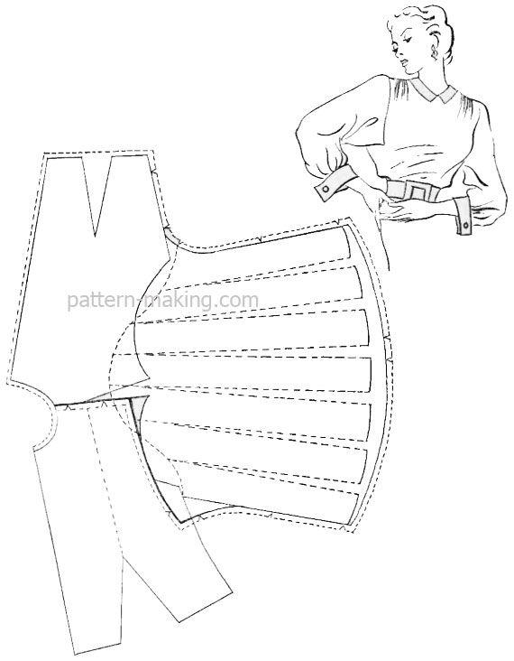 O Dolman manga | Pattern-Making.com