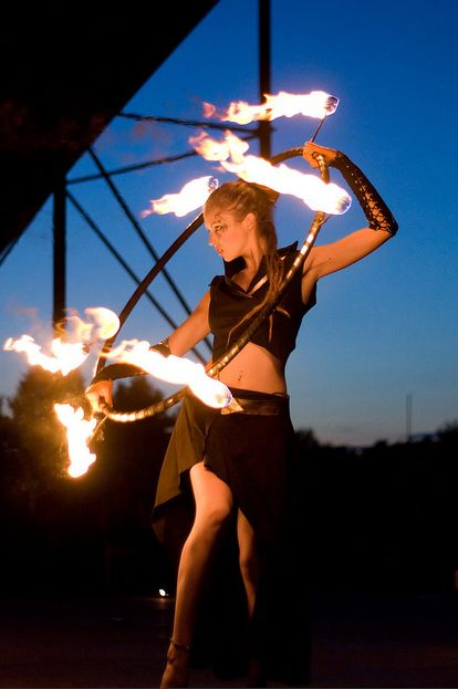 Love fire hooping, its so much fun! :) I just wish the burn time lasted longer :(