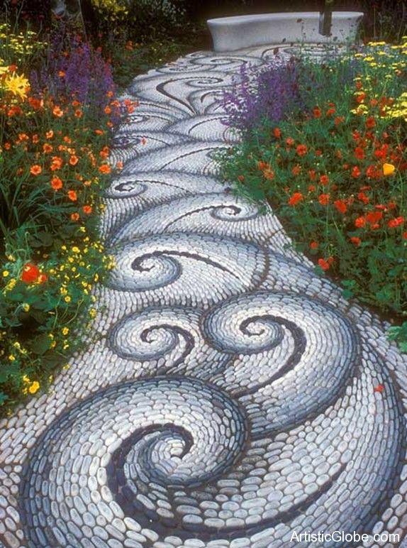 Stone pathway   Creative World