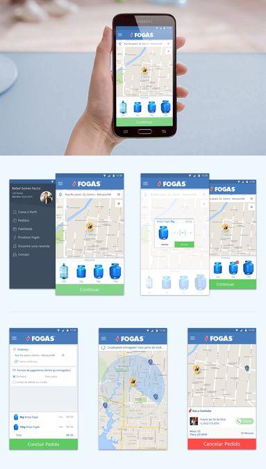 Design Propane Gas delivery APP by Gianluca.Aiello