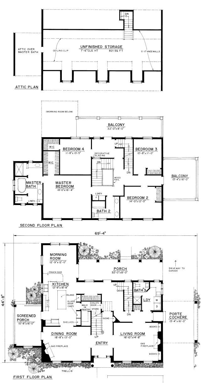 571 best images about vintage house plans on pinterest for Father of the bride house plan
