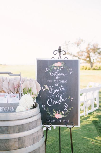 Quirky Meets Romantic At This Napa Valley Wedding #refinery29 http://www.refinery29.com/rustic-california-wedding#slide21