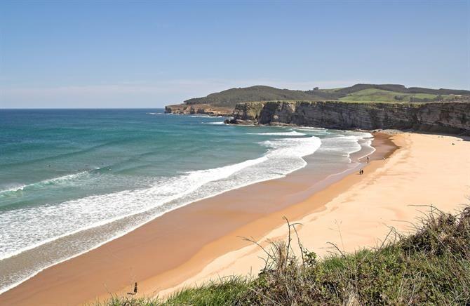Cantabria - Langre beach