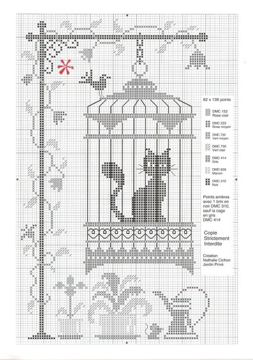 Cross Stitch Patterns cat