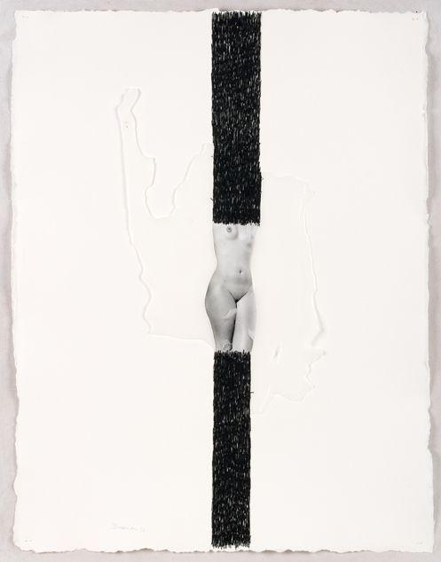 COSIDO EN LA MEMORIA. 76 X 58 cm. 900 €.