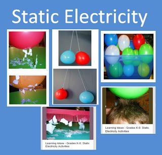 Learning Ideas - Grades K-8 Static Electricity Activities for Kids