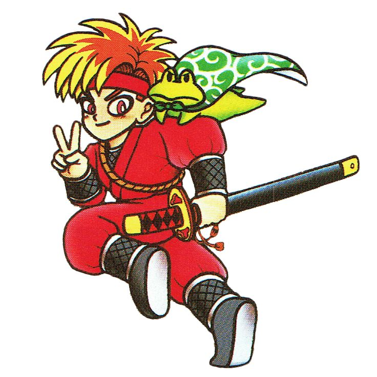 Ninja, from Tetris Battle Gaiden! [The Video Game Art Archive] [Support us on Patreon]