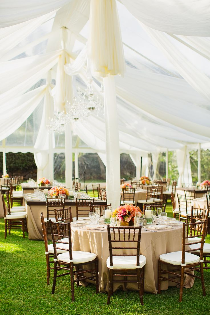 Love The Tenting And Drapes