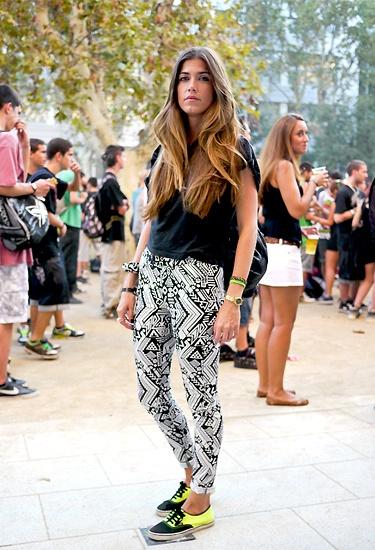 Cocolia at Hipnotik Festival | Barcelona Street Style  by lelook.eu