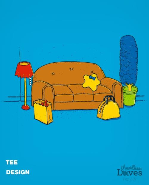 Simpsons minimalist