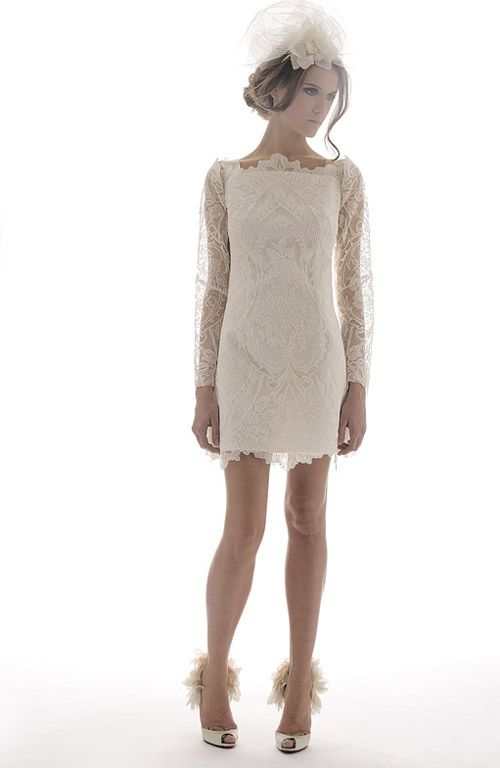 coco + kelley. Elizabeth Fillmore: Dreams in Lace. may 2, 2011. >Absolutely adore this dress for rehearsal dinner? Perhaps to give guests a taste of the wedding dress. :)