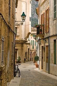 Mallorca carrer de la Lluna