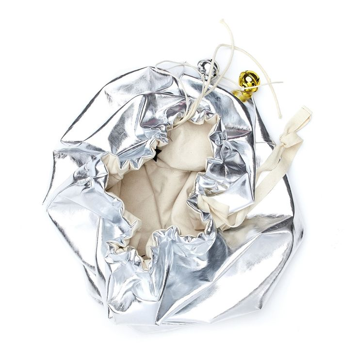 Image of Silver Christmas Sack - Reversible