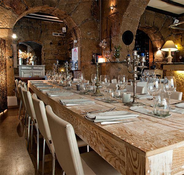 Gagini restaurant in Palermo, Sicily { Address: Via Cassari, 35 - more info at www.gaginirestaurant.com }