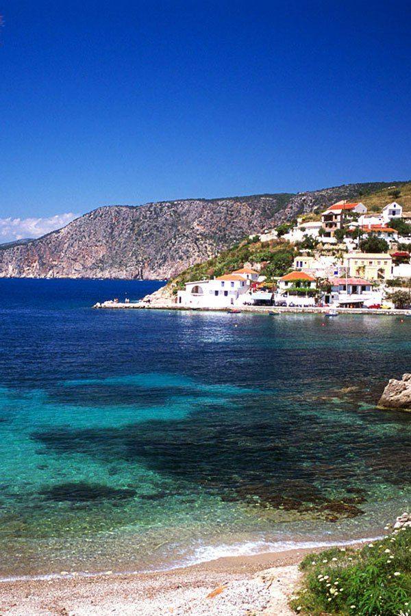Assos Village, Kefalonia, Greece
