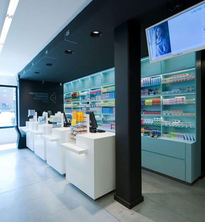 25 beste idee n over pharmacie design op pinterest agencement pharmacie meuble pharmacie en - Petit espace ontwerp ...