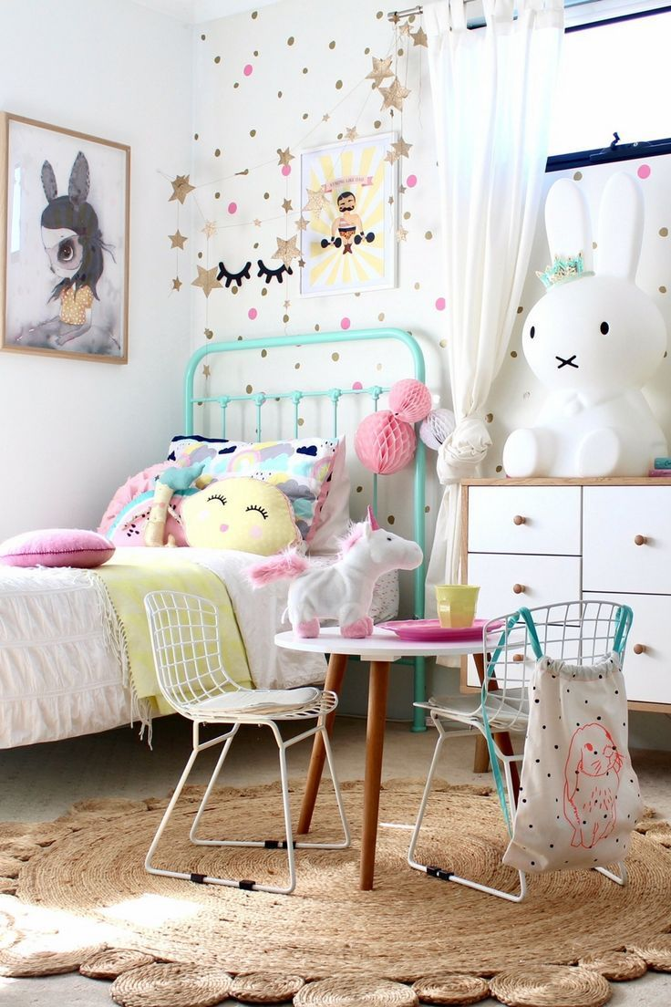 Vintage Inspired Room Decor by Mimi Lou Paris. See more on the Blog. Styling and Photography by Four Cheeky Monkeys | Girls bedroom Ideas via @4cheekymonkeys