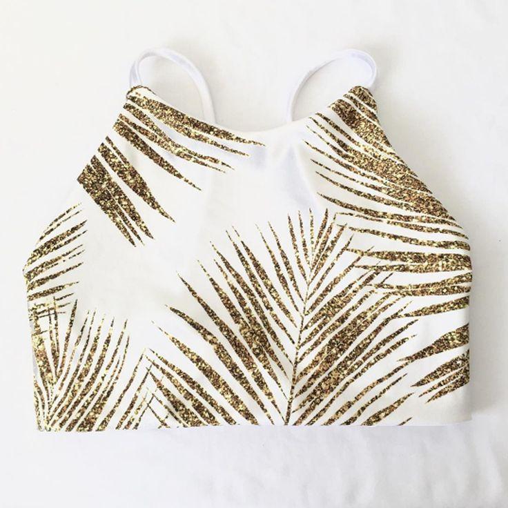 Fabric design by MirabellePrint, bikini top by kalokiniswim.com