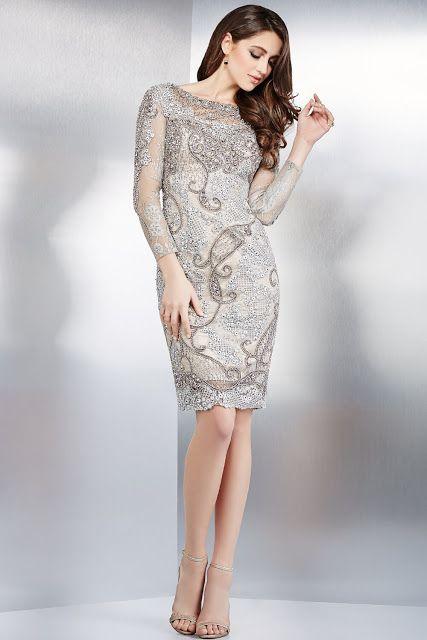 31 best Trajes Cortos images on Pinterest | Short cocktail dress ...