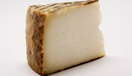 Goats milk cheese.