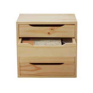 Buy 4 Drawer Storage Unit - Unfinished Pine at Argos.co.uk - Your Online Shop for Storage units.