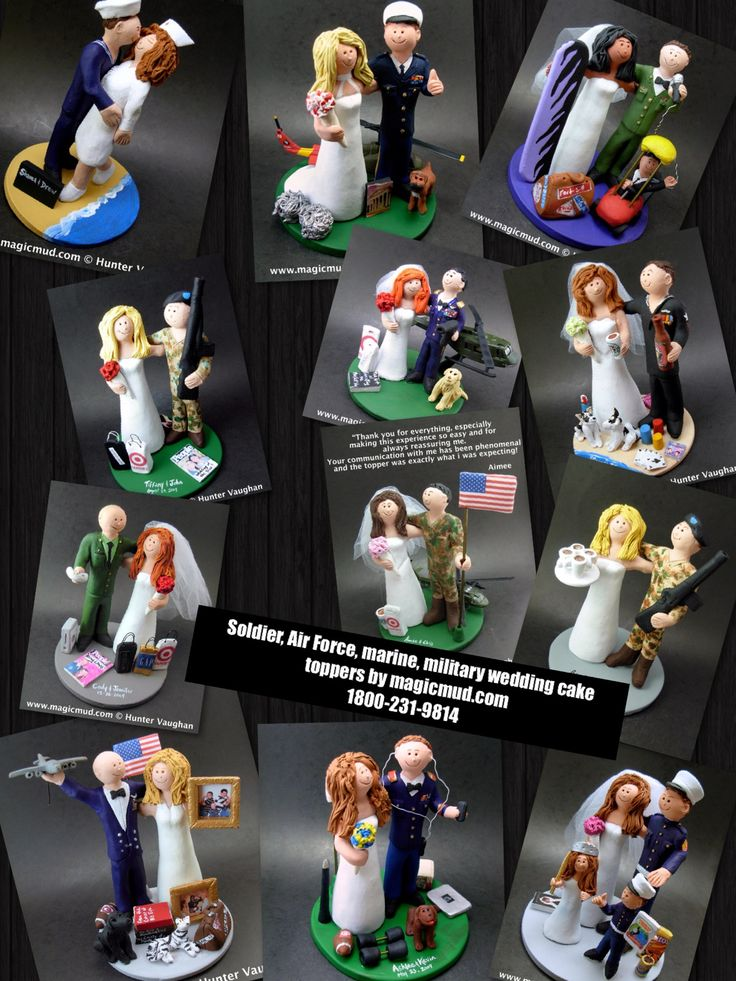 Soldiers wedding cake toppers by www.magicmud.com 1 800 231 9814 magicmud@magicmud... blog.magicmud.com twitter.com/... $235 #wedding #cake #toppers #custom #personalized #Groom #bride #anniversary #birthday #weddingcaketoppers #cake-toppers #military #soldier #marine #army #air force #navy #figurine #gift #wedding-cake-toppers ... http://custom-wedding-cake-toppers.tumblr.com/ http://instagram.com/weddingcaketoppers https://www.facebook.com/PersonalizedWeddingCakeToppers…