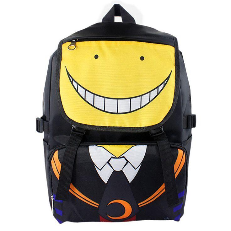 Assassination Classroom Nylon Waterproof Laptop Shoulder / Schoolbag Backpack