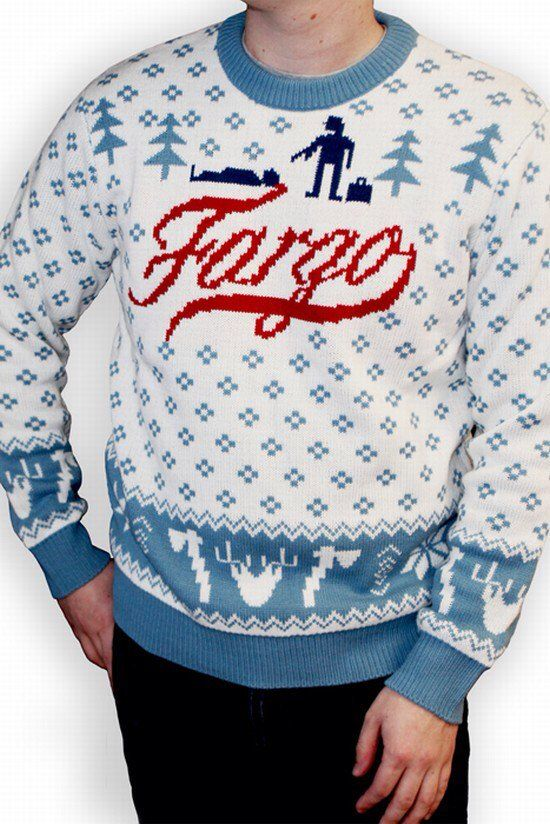 A Coen & Coen creation #ChristmasJumperDay   #Fargo #script  via @tomjohn001