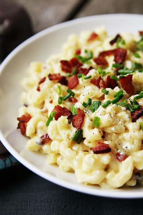 Bacon Mac & Cheese with Wisconsin Gruyère