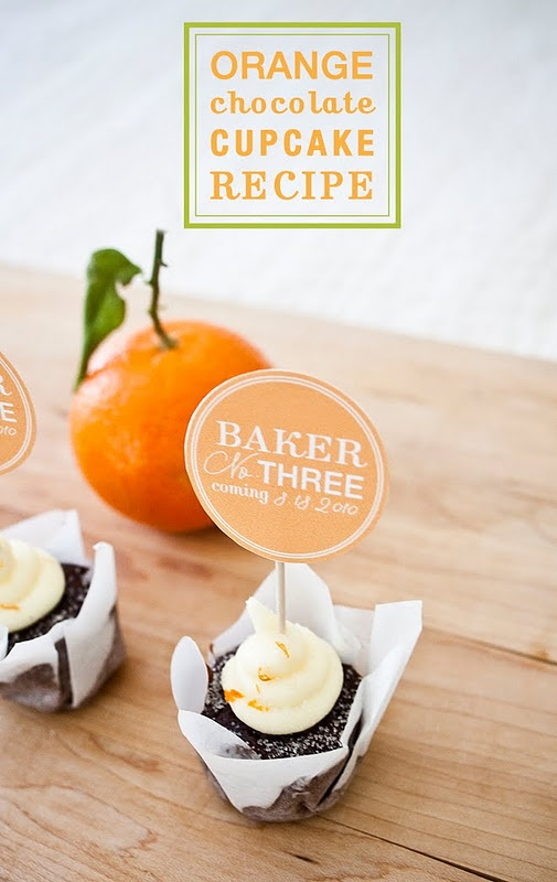 carrot cupcakes with orange icing dark chocolate orange cupcakes bake ...