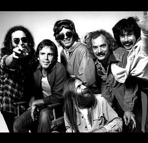 """The Grateful Dead inducted into the Rock and Roll Hall of Fame in 1994.  During the ceremony (in which Jerry showed up in the form of a cardboard cut out!) Phil said """"Sometimes you don't merely have to endure. You can prevail."""""""