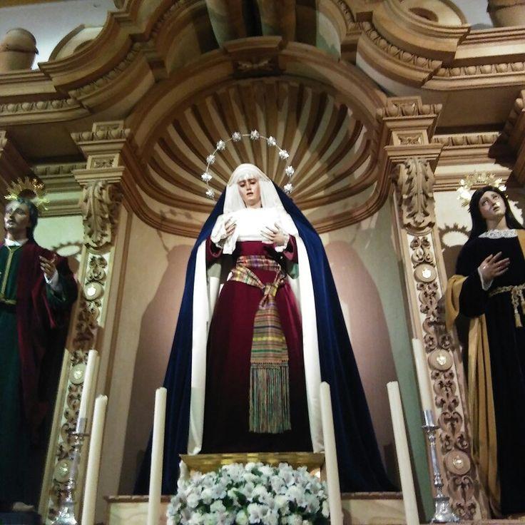 Nuestra Señora de Villaviciosa.Hermandad de El Santo Entierro.Iglesia del Santo Sepulcro y San Gregorio