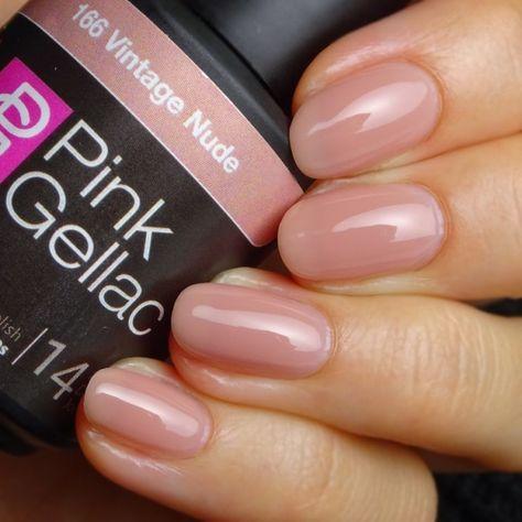 166 Vintage Nude UV Nagellack – Nails