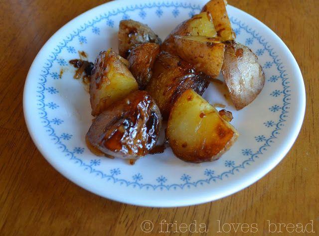Frieda Loves Bread: Pressure Cooked Lipton Onion Soup Potatoes