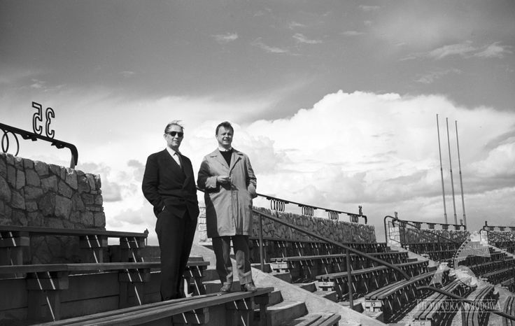 Stadion Dziesięciolecia 1960  #warszawa #warsaw #stadion #StadionNarodowy #StadionDziesieciolecia #praga #aktorzy #trybuna