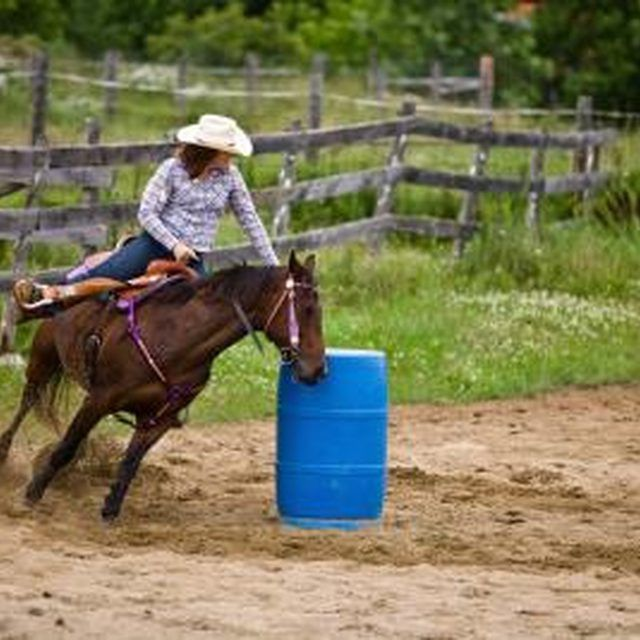 Only a few movies feature barrel racing.