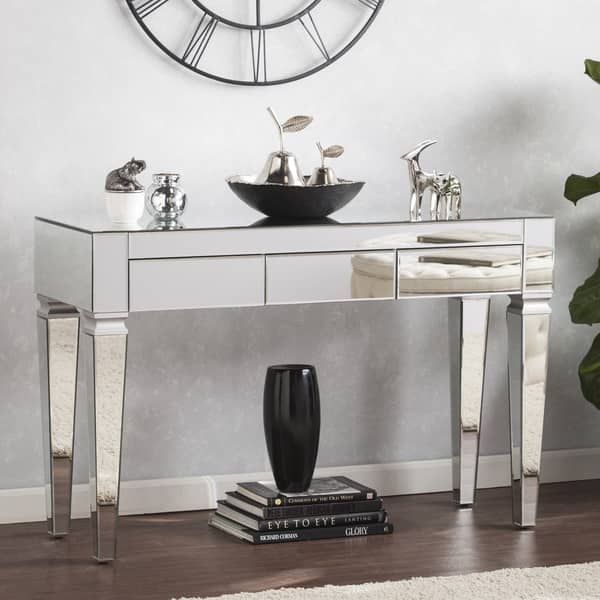 Overstock Com Online Shopping Bedding Furniture Electronics Jewelry Clothing More Mirrored Console Table Mirror Console Contemporary Mirror