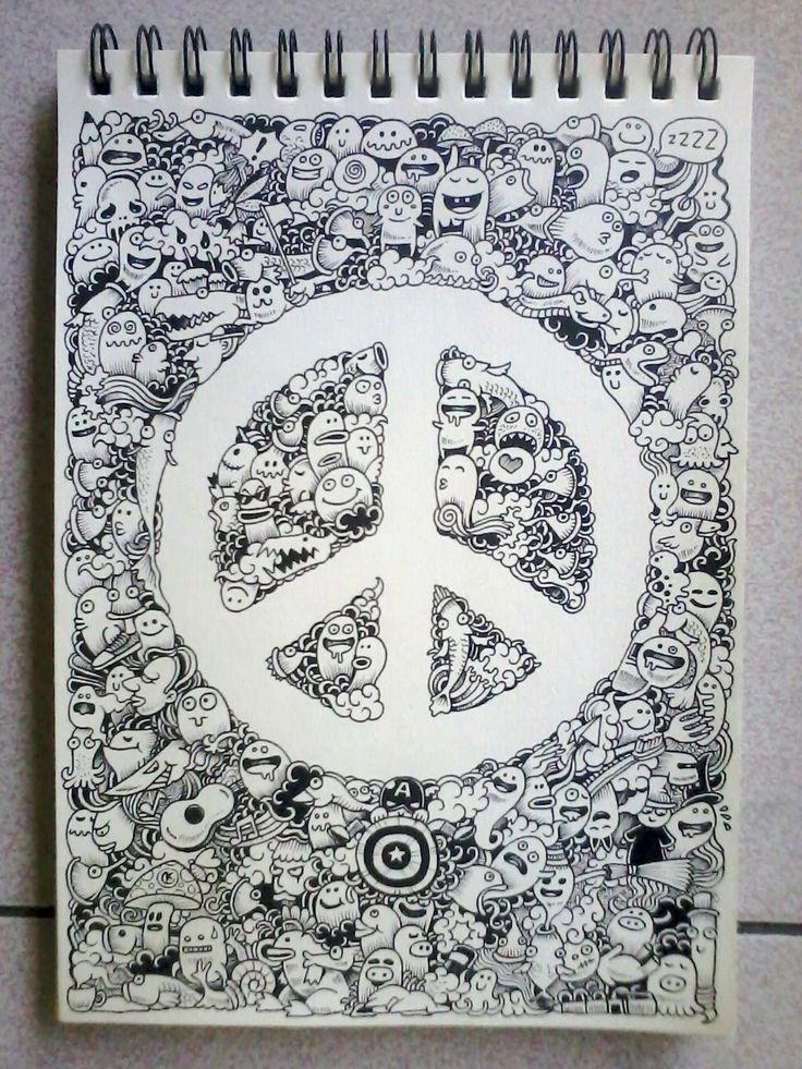 107 best Kerby Rosanes - Doodle art images on Pinterest | Doodle art ...
