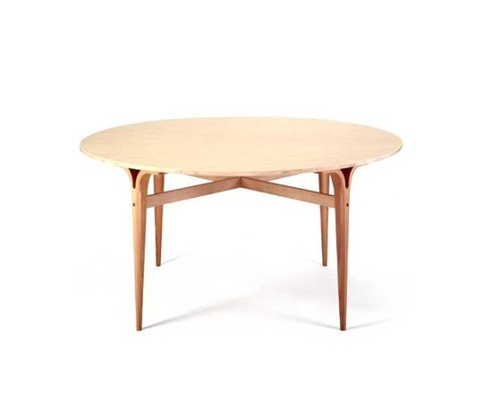 Table with cleft legs Bruno Mathsson International