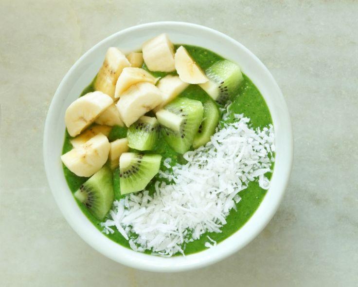 Un smoothie verde e mai delicios daca e si aspectuos!