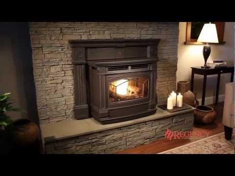 Hampton GCI60 Cast Pellet Insert - Pellet Inserts - Regency Fireplace Products