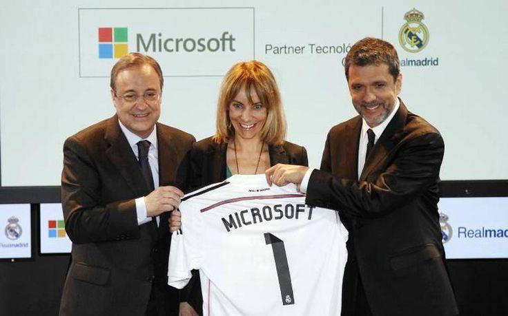 Συνεργασία της Microsoft με τη Ρεάλ Μαδρίτης - https://iguru.gr/2014/11/22/synergasia-ths-microsoft-me-th-real-madriths/