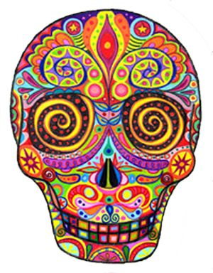 sugar skull tattoos 53 300 384 colour me in pinterest the o 39 jays sugar skull. Black Bedroom Furniture Sets. Home Design Ideas