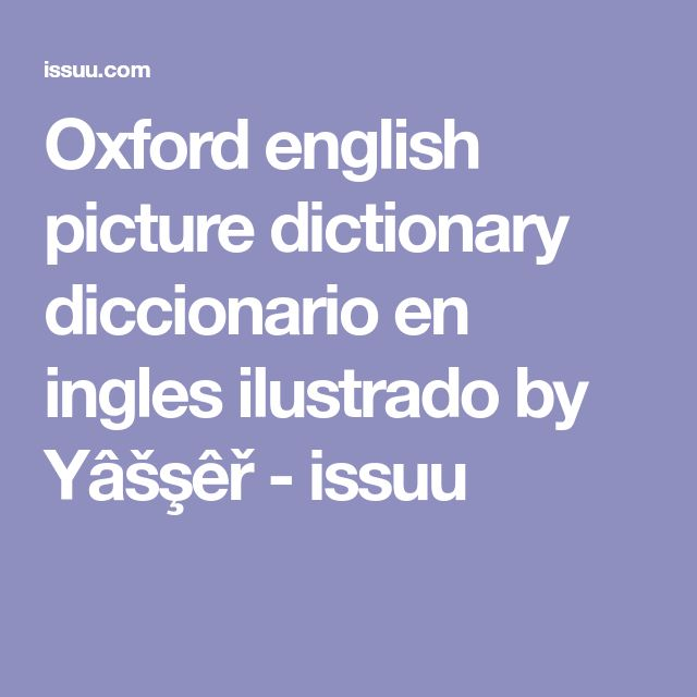 english picture dictionary online free