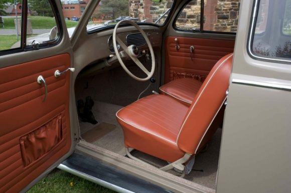1957 Volkswagen Bug Deluxe VW For Sale Interior