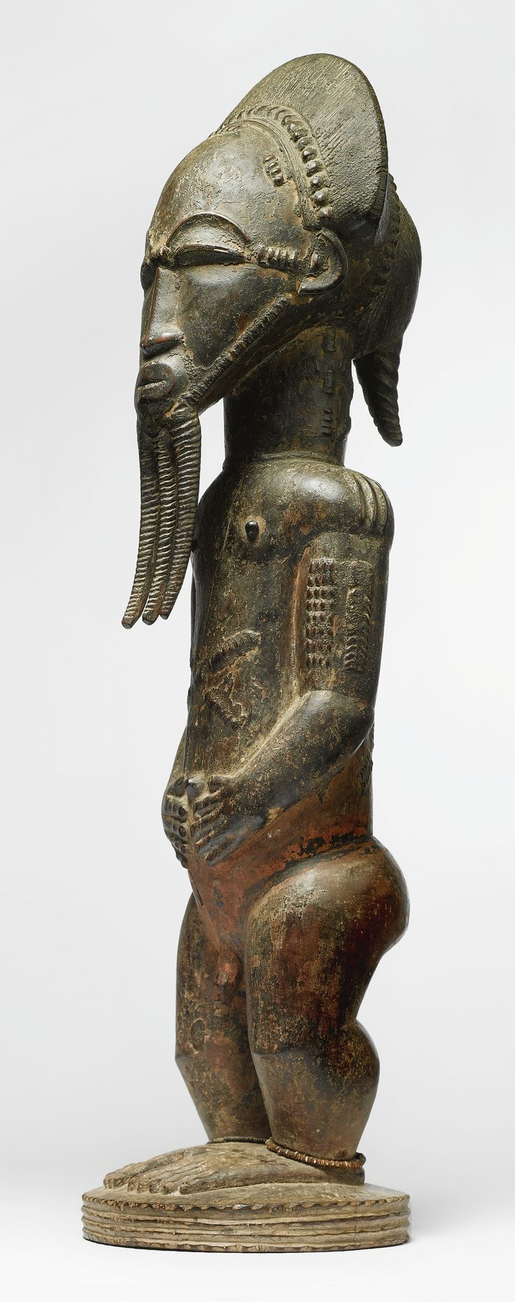 BAULE MALE STATUE, IVORY COAST | lot | Sotheby's