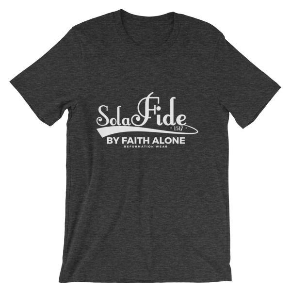 Sola Fide Men's Unisex short sleeve Christian t-shirt